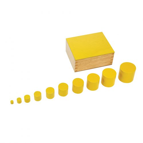 Knobless Cylinders Yellow