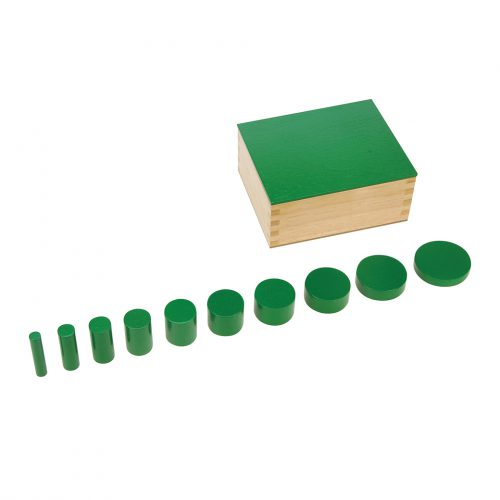 Knobless Cylinders Green