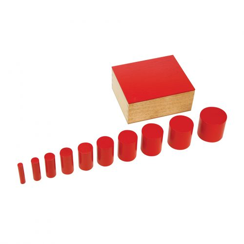 Knobless Cylinders Red