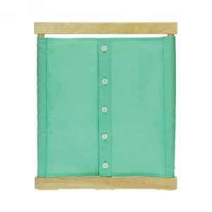 Buttoning Frame with small buttons
