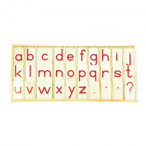 Printed Alphabet (wooden) (Box not include)