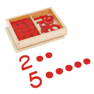 Cut Out Numerals and Counters